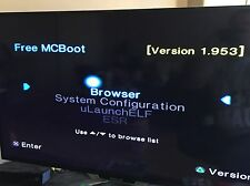 FREE mcboot Multi versione fmcb v1.953 PlayStation 2 PS2 Memory Card 8 MB