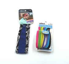 Scunci Headband Everyday & Active Super Comfy Sporty Mesh +Hair Ties (MMA-Gym)