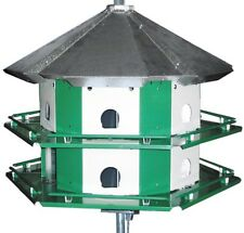 Nature House Mini-Castle Safety System with Pole, 12 Room Bird House