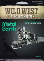 Fascinations Metal Earth Wild West 2-6-0 Locomotive 3D Steel Model Kit MMS190