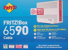 AVM FRITZ!Box Kabel bis 2533MBit/s Gigabit LAN Fritz!OS DECT IP Telefon MIMO OVP