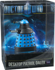 "DOCTOR WHO - Desktop Patrol 4"" Dalek ~ Blue (Wow! Stuff) #NEW"