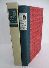 THE BOOK OF BALLADS, MacEdward Leach, Limited Editions Club, 1967 in Slipcase