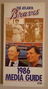 1986 Atlanta Braves Baseball Media Guide