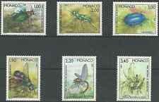 Timbres Insectes Monaco 1567/72 ** lot 3604