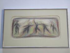 DOROTHY SOVINSKY DRAWING MODERNIST VNTG  SAN FRANCISCO VINTAGE POP ART ABSTRACT