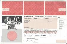 McDonald's Corporation. - selten angeboten! RAR!