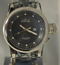 New Mens Invicta 23820 Russian Diver Remix Stainless Steel Resin Bracelet Watch