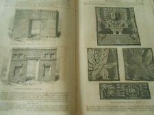 Antiquités Péruviennes Gravure Print 1858