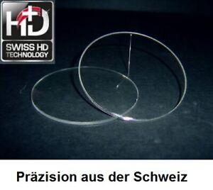 2 Kunststoff-Brillengläser 1,6 mit Hart-Super-ET aus Schweizer Spitzenproduktion