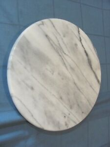Gray Marble Lazy Susan - 12 inch diameter >