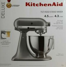 BRAND NEW - KitchenAid Deluxe 4.5 Qt. 10-Speed Silver Stand Mixer KSM97SL