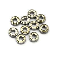 10pcs 696zz tiefen groove - kugellager 6x15x5mm metall mini - kurs Gut ZP ML