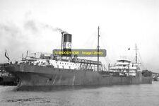 mc1061 - UK Esso Oil Tanker - Esso Dublin , built 1927 - photo 6x4