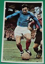 CPA FOOTBALL 1960-1961 MARYAN WISNIESKI RC LENS EQUIPE DE FRANCE BLEUS SANG & OR