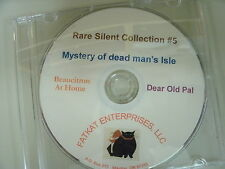 Rare Silent Films  #5 - Mystery of Dead Man's Isle, Dear Old Pal, Beaucitron at