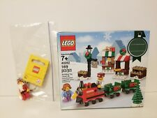 Lego 40262 Christmas train set with bonus Santa keychain 6143972