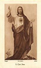 "Fleißbildchen Heiligenbild Gebetbild  MUSTERBILD "" Deger "" um 1930"" H1773"""