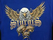 Men's 70th Annual Sturgis 2010 Motorcycle Rally Blue T-Shirt Sz Small