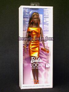 The Barbie Look City Shine Barbie Collector Black Label Bronze Dress AA African