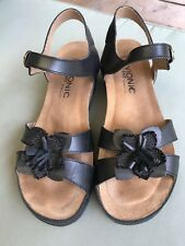 Vionic Orthaheel Gibraltar Wedge Black size EU40 UK7 US9 HALF PRICE