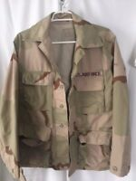 Sand Camouflage Women's Size Small Heavy Military Combat Coat US AIR FORCE