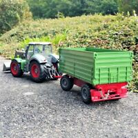 Rc Ferngesteuerter Traktor Nutzfahrzeug mit Anhänger Kinder Spielzeug RT01A Neu