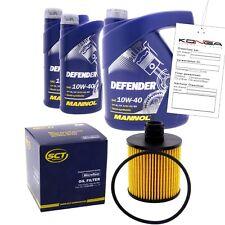 Inspektionskit MANNOL Defender 10W-40 für Mercedes-benz Cls 250 Cdi C 180 200