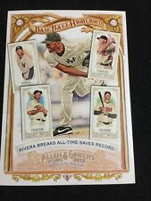 2012 Topps Allen & Ginter Box Toppers Baseball Highlights BH-4