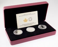 2018 Royal Canadian Mint Silver 3-Coin Lore Set w/ Box, Case, and CoA