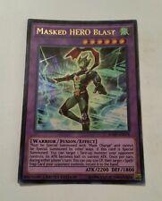 MASKED HERO BLAST - ULTRA RARE - JUMP-EN078 - LIMITED EDITION - NEAR MINT
