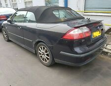 05 Saab 9-3 Convertible Breaking For Parts. Four Wheel Nuts. Cabriolet