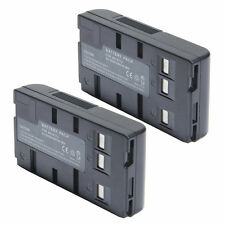 2x BN-V11U BN-V12U V25U BN-V18U Battery PACK FOR JVC GR-SXM330U PV-BP18 PV-L352