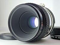 Nikon AI-S AIS MICRO NIKKOR 55mm f/2.8 MF Macro LENS JAPAN JP SLR F [Excellent!]