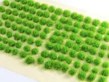4mm Spring Green Grass Tufts: Self-Adhesive Multi-Scale Tufts Sp