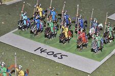 15mm medieval / turkish - seljuk cavalry 12 cavalry - cav (14065)