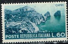 Italy Island of Capri view stamp 1952 MNH
