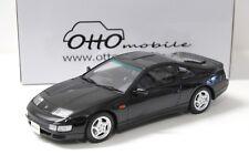 1:18 Otto nissan fair lady 300zx (z32) RHD Black New en Premium-modelcars