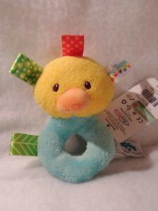 Taggies Barnyard Rattle Duck