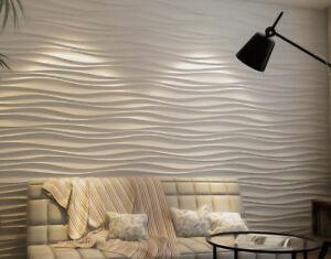 3D Wandpaneele aus Gips, Wandgestaltung, 3D Wandplatte nicht brennbar