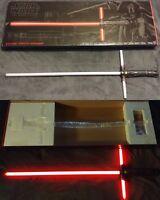 Star Wars Hasbro KYLO REN Ep. VII-VIII Black Series 04 FX red led lightsaber NEW