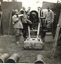 WW1 FOTO DAL FRONTE UN CANNONE DA 305 A CONCA DI PLEZZO