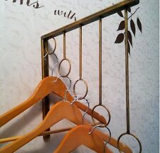 Iron Wall Mounted Clothes Rack Hanger Display Fashion Shop 002