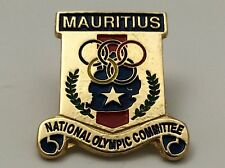 Mauritius National Olympic Committee Pin F901