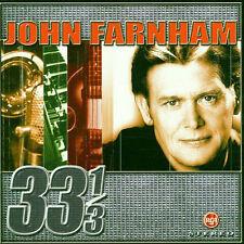 John Farnham - 33 1/3 CD - NEW AND SEALED