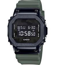 New Casio G-Shock Black PVD Steel Resin Strap Watch GM5600B-3