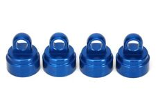 Traxxas TRA3767A Shock caps, aluminum (blue-anodized) (4) fits all Ultra Shocks