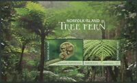 NORFOLK ISLAND TREE FERN 2019 - MNH MINISHEET (G114)