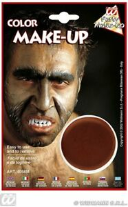 Widmann Carnevale Halloween Make Up Marrone Brown art. 4058M