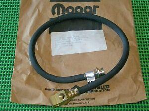 1976-1981 Dodge Truck Ramcharger M880 Power Wagon NOS MoPar REAR BRAKE HOSE
